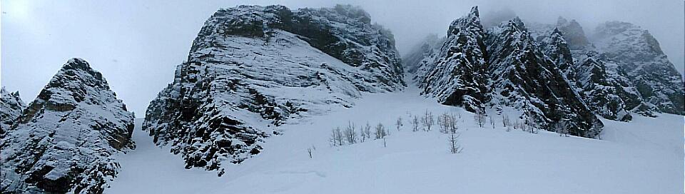 Panorama Ridge Couloirs***
